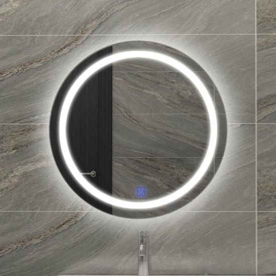 2021 Amazon Hot Selling Waterproof Shower Wall Decorative LED Bathroom Mirror China Factory