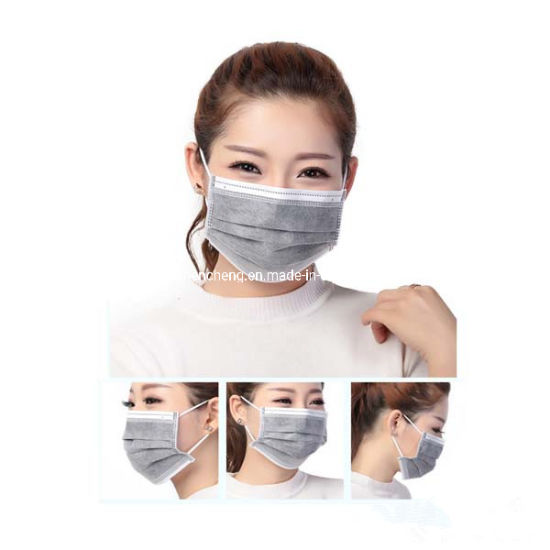 Disposable Well Protect 4ply Activated Carbon Face Mask