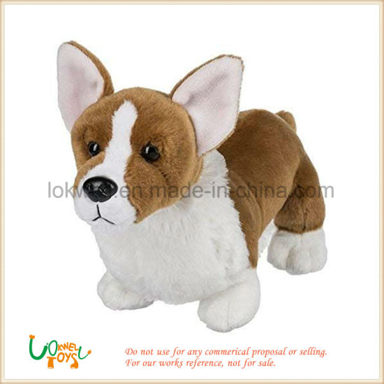 Stuffed Animal Toy Soft Toy Dog Plush Toy Corgi Dog pictures & photos