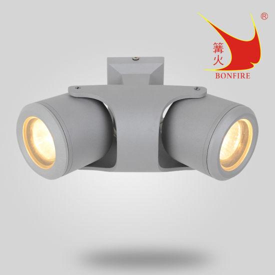 Turnable Angle GU10 MR16 Outdoor Use Wall Light