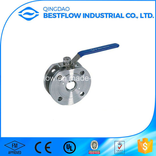 Stainless Steel/Carbon Steel 1000wog/2000wog 1PC/2PC/3PC Threaded/Butt Welding/Socket/Flanged Ball Valve pictures & photos