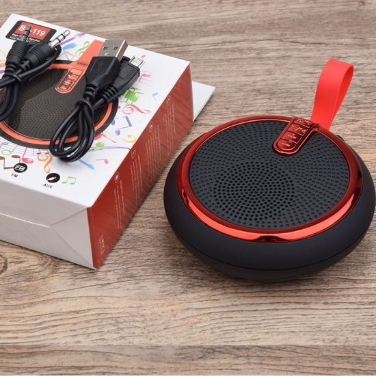 China Factory Wholesale 2019 Newest Mini Portable Wireless Bluetooth Speaker 4.2 in Hand Free Phone Call Function for Promotion Gift