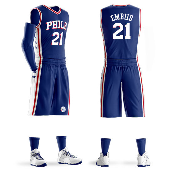 Wholesale Custom Sublimation Basketball Uniform Blank Basketball Jerseys