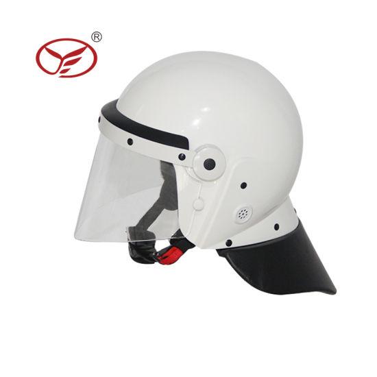 Law Enforcement ABS Body Protector Anti Riot Helmet
