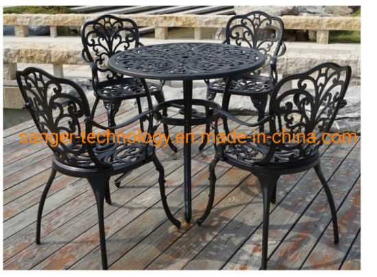 Bbq Garden Patio Table And 4 Chair Set