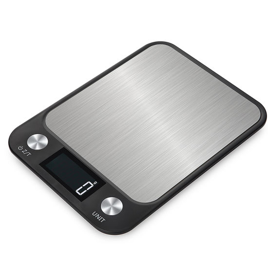 Big Platform Weight Digital Kitchen Scale Negative LED Display Strong Power Electrical Kitchen Scale