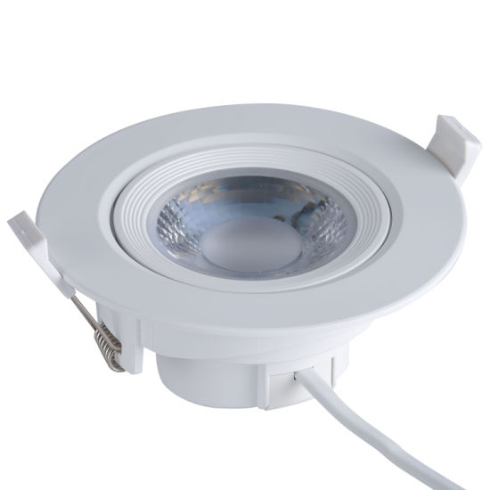 Commercial 5W/7W/9W/12W/15W High Power Indoor LED Round Ceiling Spot Down Lamp Lighting SMD Recessed LED Downlight