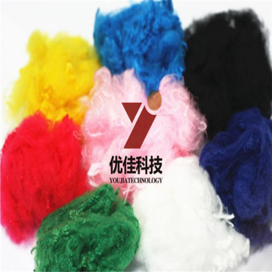 Polyester Fiber Stable Fiber Fiber Manufacture in China pictures & photos