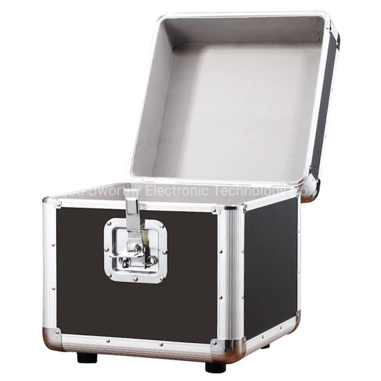 High Quality Vinyl Record Lp Carrying and Storage Case Aluminum, Hold up to 50~100 Records