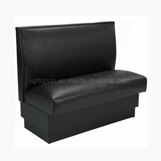 Sp Ks119 Modern Restaurant Retro Leather Seating Fast Food American Diner Booth Sofa Seat