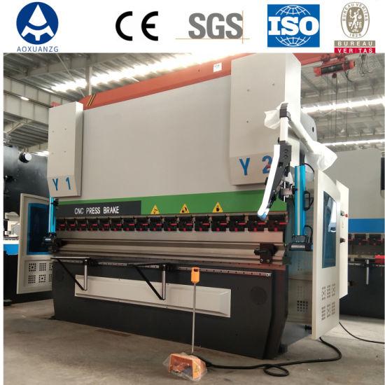 We67K-200t/3200 4+1 Axis CNC Bending Machine/Hydraulic Press Brake Machine with Da66t System