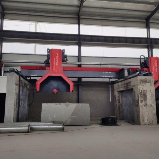 High Production Multi Blade Granite Marble Stone Block CNC Cutting Machine