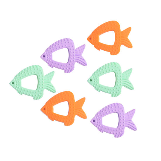 Baby Fish Molar Silicone Chews Teething Toys Teether for Kids pictures & photos