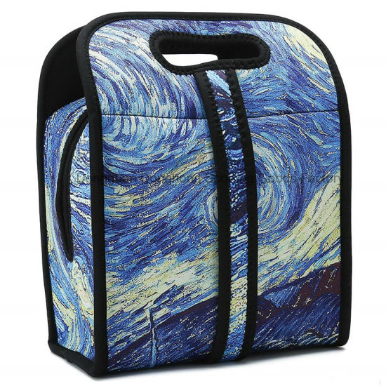 New Hot Design Thermal Neoprene Portable Lunch Bag with Customized Printing
