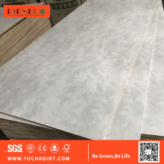 High Quality Wood Grain Melamine Plywood with Cheap Price