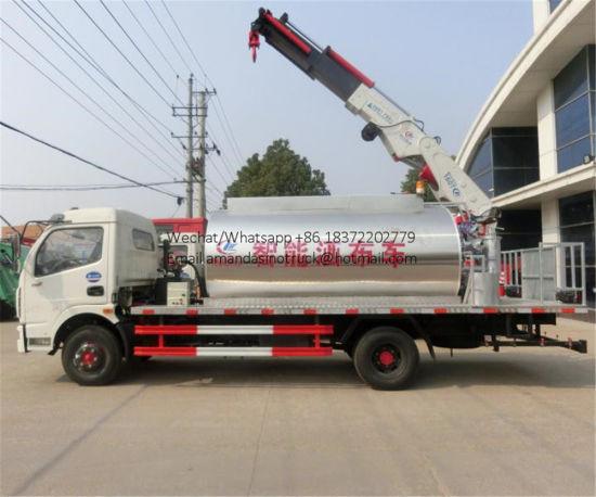 Road Construction Machinery 6t Bitumen Distributor Asphalt Sprayer Truck