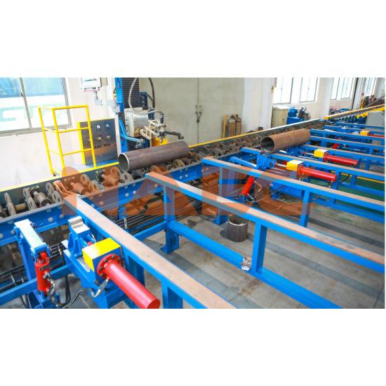 "Five-Axis CNC Flame/ Plasma Pipe Cutting/ Profiling Machine 2-24"""