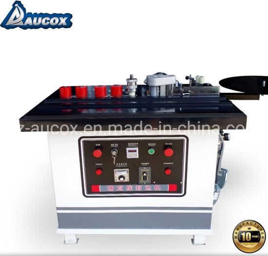 China Woodworking Machine Manual PVC MDF Edge Banding Bander Machine for Furniture