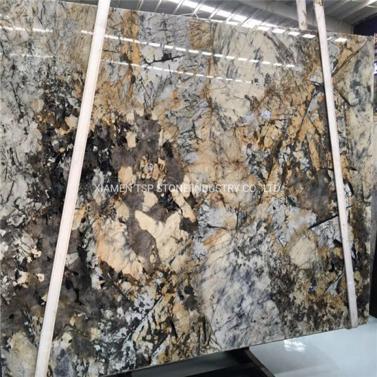 Luxury White/Black/Yellow/Silver/Beige/Travertine/Limestone/Onyx/Sandstone/Marble/Granite Slab for Prefab Countertop/Flooring/Floor Paving Stone Slab Tiles pictures & photos