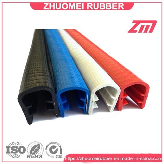 China Flexible PVC Plastic Edge Trim Protector Rubber Seal