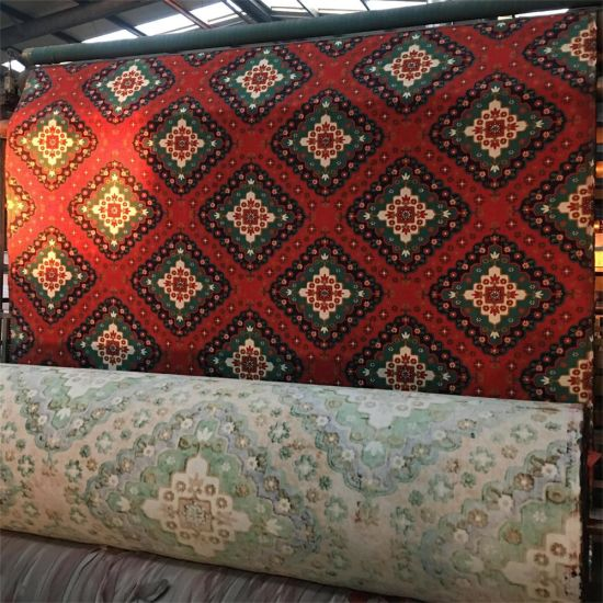 Waterproof Printing Bamboo Carpet For Bathroom