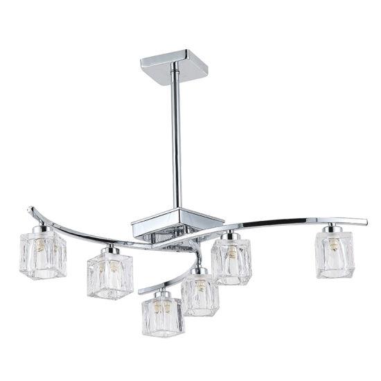 Decorative Indoor Chandelier Lighting with Glass