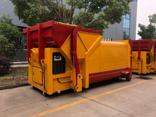 8m3 to 20m3 Waste Compression Container/ Compactor Skip /Mobile Refuse Compactor for Sale pictures & photos