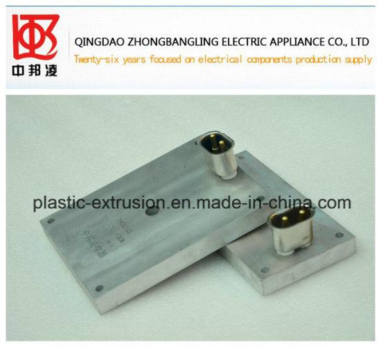 Cast Aluminum Heater Plastic Machinery Parts/Heater/Aluminum Heater/Cast-in Heating Elements/Cast-in Heater