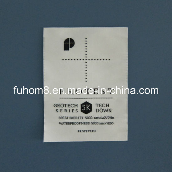 Customized High Quality Satin Damask Woven Label