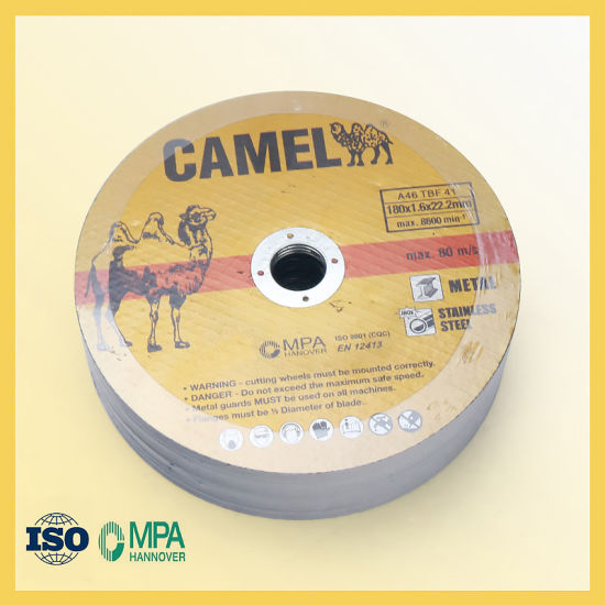T41 Flat Cut-off Wheel with Size of 180X2.0X22.23mm