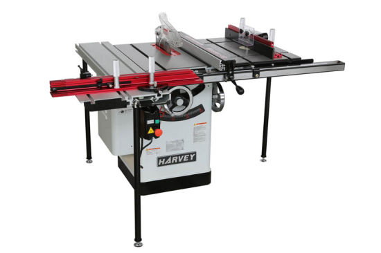HW110WSE Workstation Woodworking Table Saw with sliding table and router table
