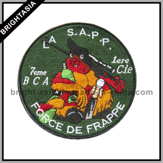 Quality Professional Embroidery Patch for Garment (BYH-10759)