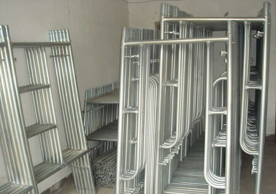 HDG Ringlock Scaffolding/Construction Formwork Ringlock Scaffold pictures & photos