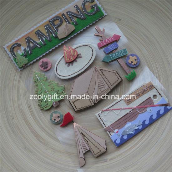 China Diy Adhesive 3d Scrapbook Handmade Paper Craft Glitter