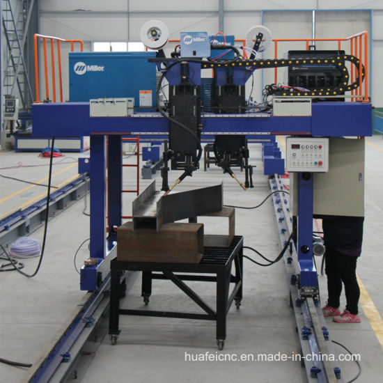 Variable Beam Welding Machine for Truck Trailer Tank pictures & photos