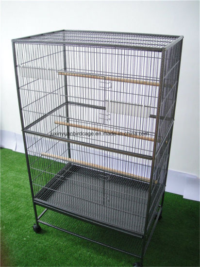 44be598ec Large Bird Aviary Bird Cage Metal Parrot Birds House Birdcages Stable Steel Pet  Cage