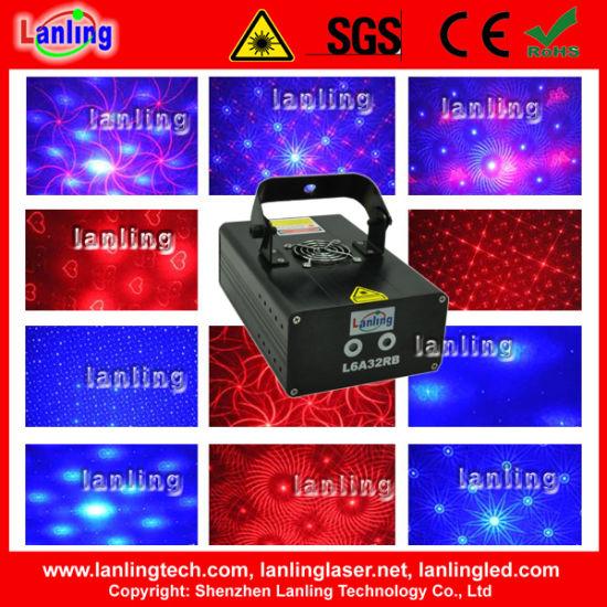 Mini DJ & Disco Multi Gobo Laser Projector Light