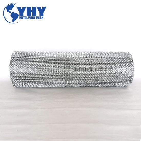 ISO9001 Galvanized Woven Wire Dust Filter Mesh