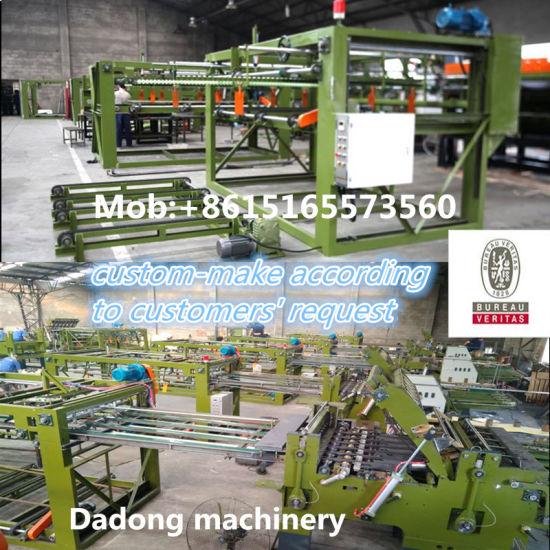 Three-Ply Board Making Machine Plywood Veneer Joining Machinery