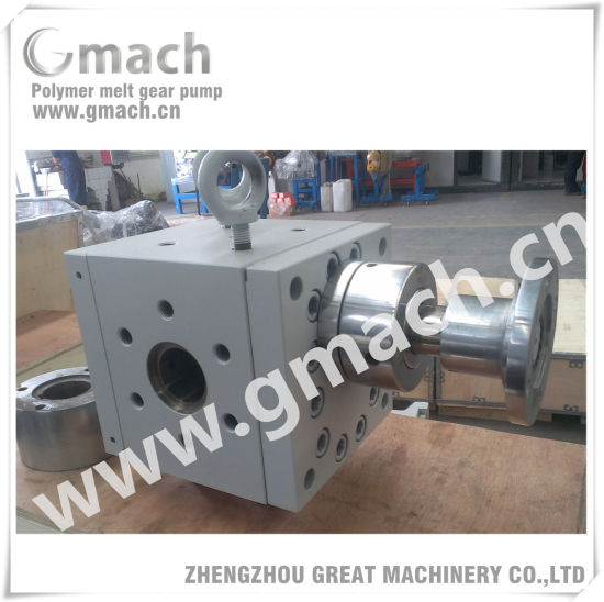 High Pressure Polymer Melt Gear Pump pictures & photos