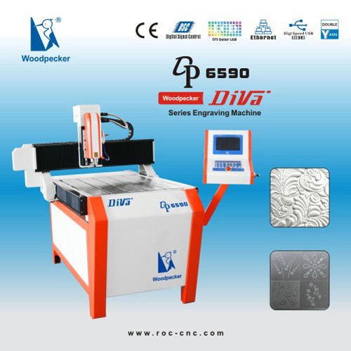 CNC Router/CNC Engraving Machine (Woodpecker DP-6590)