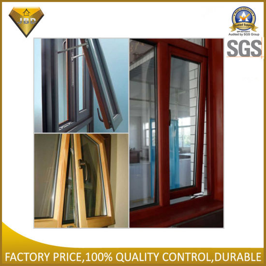Aluminium Wendow Window with Double Tempered Glass for House (JBD-K4) pictures & photos