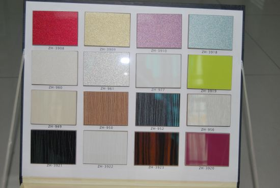Solid Color UV MDF Board For Kitchen Cabinet Door