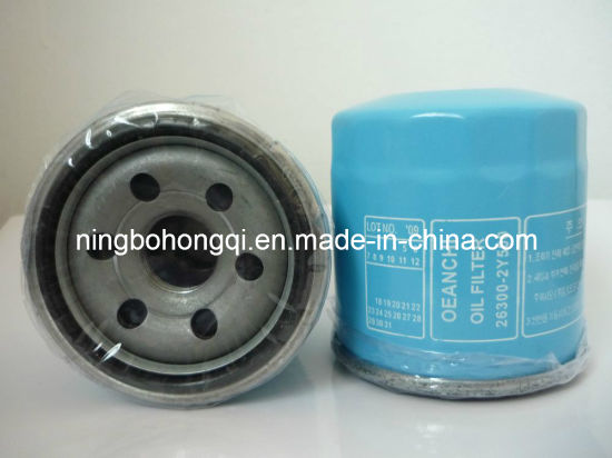 KIA Oil Filter 61219, W68, 26300-2y500, 26300-02500 pictures & photos