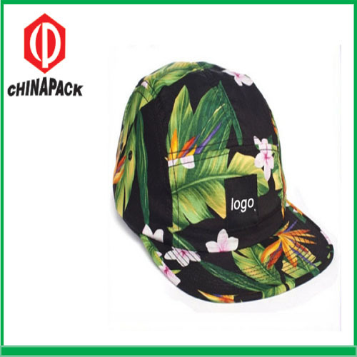 2019 Colorful Floral 5-Panel Printed Caps (CPA-14-1196) pictures & photos