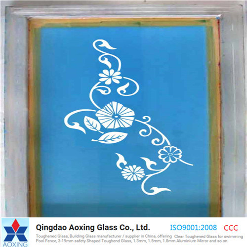 3-19mm Toughened Silk Screen Printed Glass with Various Color pictures & photos