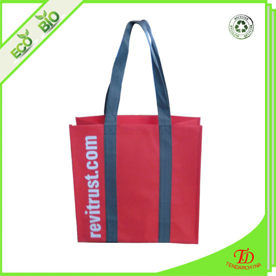 Promotion Reusable Grocery Eco OEM PP Non Woven Shopping Bag pictures & photos