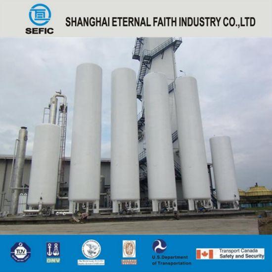 China Lox/Lin/Lar Industry Gas Cryogenic Storage Tank Liquid