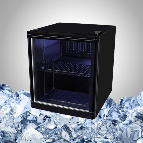 China Small Bar Fridge With Glass Door For Drink Display China