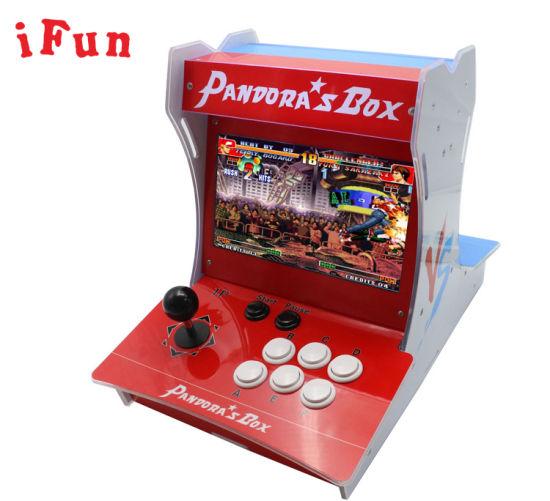 China Mini Fighting Game Pandora Box 2 Player Fighing Game